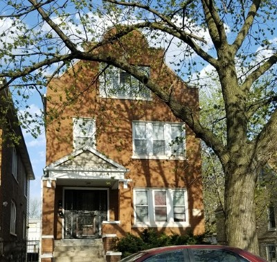 Chicago Multi Family Home Re-Activated: 7027 South Washtenaw Avenue