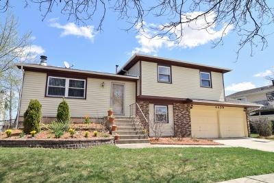 Hoffman Estates Single Family Home Price Change: 4429 Huntington Boulevard