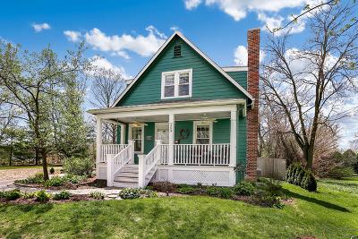 Glen Ellyn Single Family Home Price Change: 253 Anthony Street