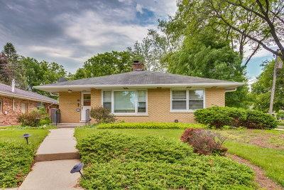 Glen Ellyn Single Family Home For Sale: 435 Elm Street