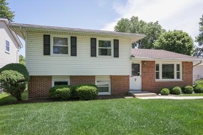 Streamwood Single Family Home New: 7 Linda Lane