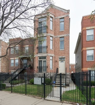 Bronzeville Condo/Townhouse For Sale: 4121 South Vincennes Avenue #2