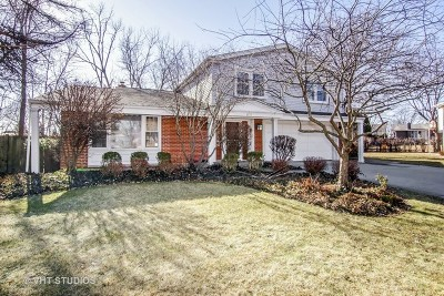 Northbrook Single Family Home Contingent: 4127 Crestwood Drive