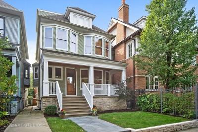 Single Family Home For Sale: 1457 West Belle Plaine Avenue