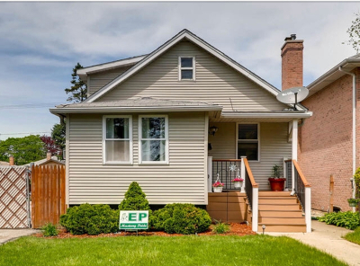 Evergreen Park Single Family Home Price Change: 2716 West 99th Street