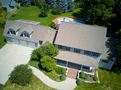 Plainfield Single Family Home For Sale: 13833 South Van Dyke Road