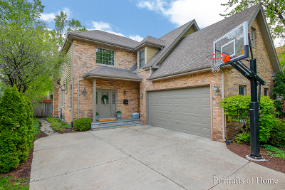 Western Springs Single Family Home For Sale: 4324 Wolf Road