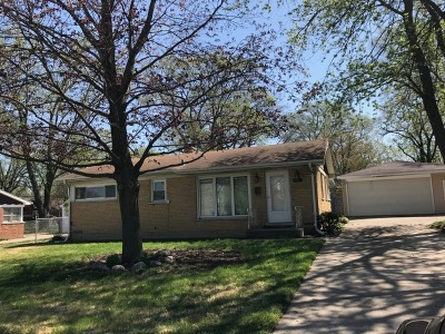 Richton Park Single Family Home For Sale: 22421 Richton Square Road