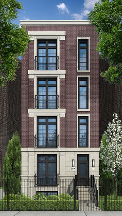 Condo/Townhouse For Sale: 1438 North North Park Avenue #2