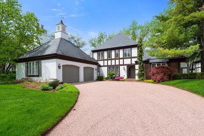Burr Ridge Single Family Home For Sale: 1202 Burr Ridge Club