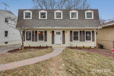 Glen Ellyn Single Family Home Price Change: 177 Kenilworth Avenue