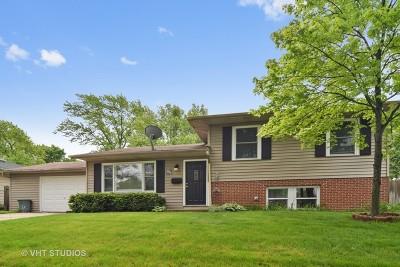 Hanover Park Single Family Home For Sale: 1853 Poplar Avenue