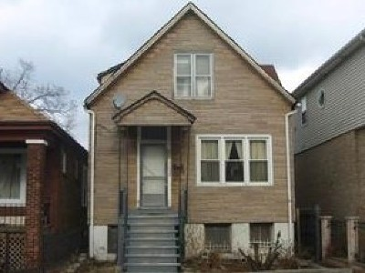 Chicago Single Family Home Re-Activated: 646 East 91st Street