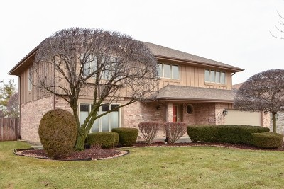 Orland Park Single Family Home For Sale: 10742 Voss Drive