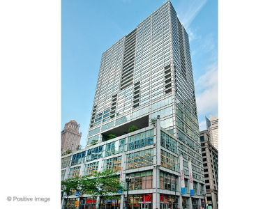Condo/Townhouse For Sale: 8 East Randolph Street #1507