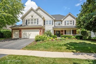 Geneva Single Family Home Price Change: 39w800 Benton Lane