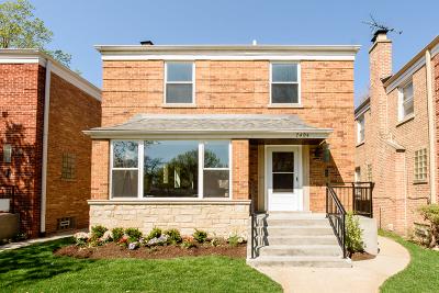 Single Family Home For Sale: 7404 North Washtenaw Avenue