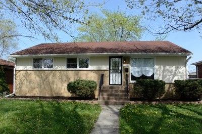 Richton Park Single Family Home For Sale: 22711 Ridgeway Avenue
