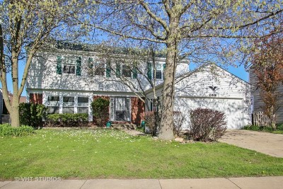 Schaumburg Single Family Home For Sale: 268 North Walnut Lane