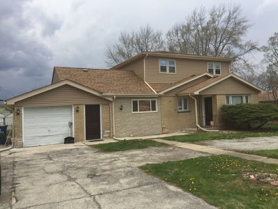 Palos Heights, Palos Hills Single Family Home For Sale: 10442 South 81st Court