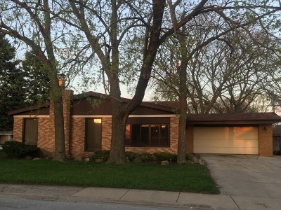 South Holland Single Family Home For Sale: 15305 Drexel Avenue