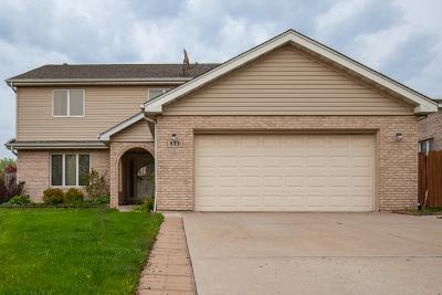 Bridgeview Single Family Home Price Change: 9331 Thomas Avenue