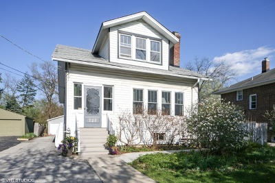 Wheaton Multi Family Home For Sale: 727 South Naperville Road