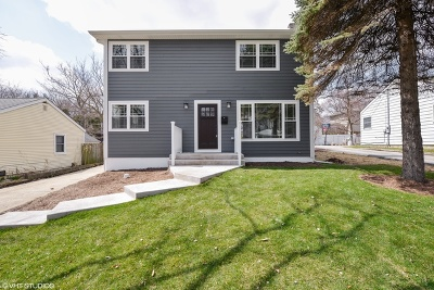 Downers Grove Single Family Home Price Change: 4338 Washington Street