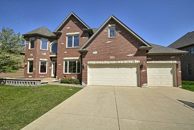 Aurora Single Family Home Price Change: 2266 Red Maple Lane