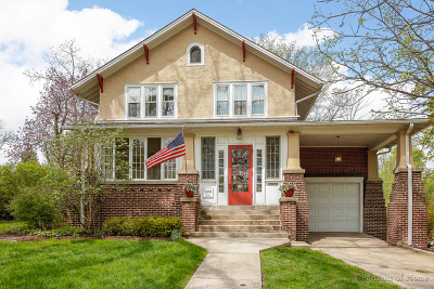 Glen Ellyn Single Family Home For Sale: 610 North Main Street