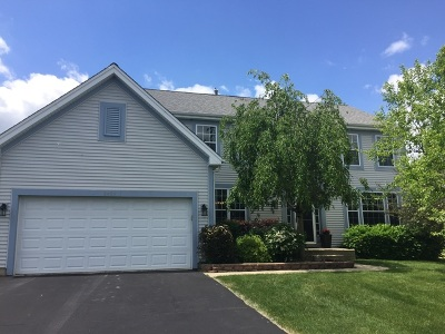 Island Lake Single Family Home For Sale: 2425 Fen View Circle