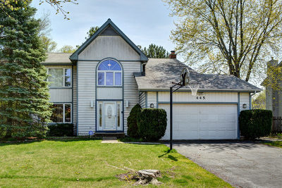 Buffalo Grove Single Family Home For Sale: 445 Parkchester Road