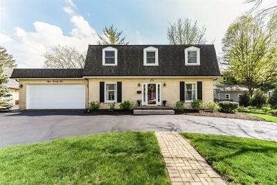 Glen Ellyn Single Family Home For Sale: 875 Duane Street