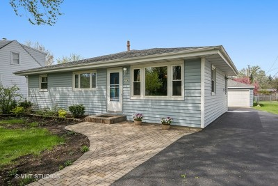 Lombard Single Family Home For Sale: 276 North Edgewood Avenue