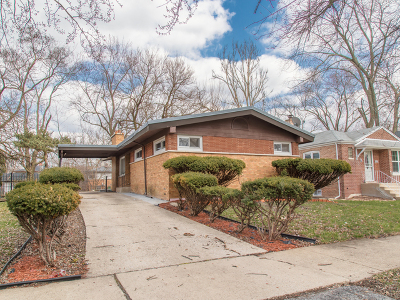 Dolton Single Family Home For Sale: 14615 State Street
