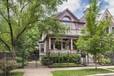 Single Family Home For Sale: 3448 North Greenview Avenue