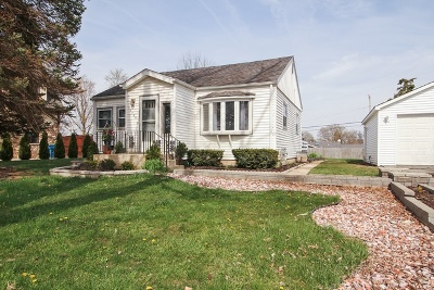Orland Park Single Family Home For Sale: 15729 113th Avenue