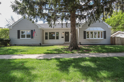 Downers Grove Single Family Home For Sale: 1825 Prairie Avenue