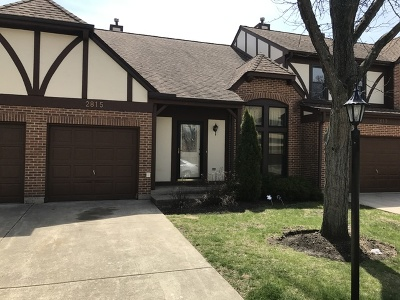 Westchester Condo/Townhouse For Sale: 2815 Brighton Court