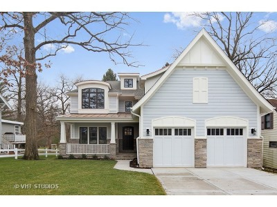 Burr Ridge Single Family Home For Sale: 7950 South County Line Road