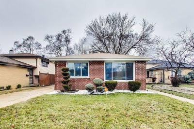 Dolton Single Family Home Re-Activated: 14820 Cottage Grove Avenue