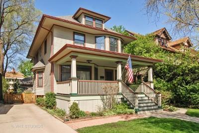 Oak Park Single Family Home For Sale: 525 South Elmwood Avenue