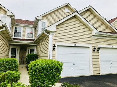 Lake In The Hills Condo/Townhouse For Sale: 139 Northlight Passe