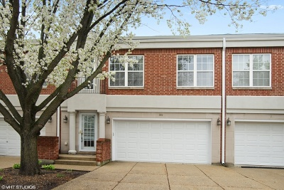 Buffalo Grove Condo/Townhouse Contingent: 384 Town Place Circle #384