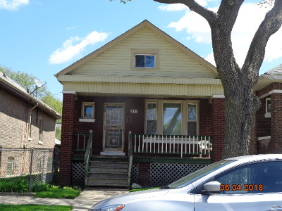 Chicago IL Single Family Home Re-Activated: $39,000