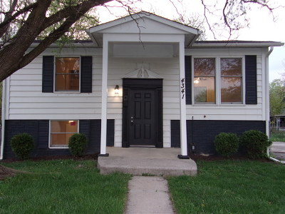 Richton Park Single Family Home Price Change: 4341 Andover Drive
