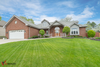 Tinley Park Single Family Home Price Change: 17318 Briar Drive