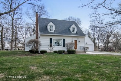 Elburn Single Family Home For Sale: 43w860 Hughes Road