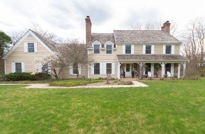 Barrington Single Family Home For Sale: 26415 West Cuba Road