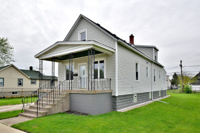 Calumet City Single Family Home For Sale: 415 154th Place